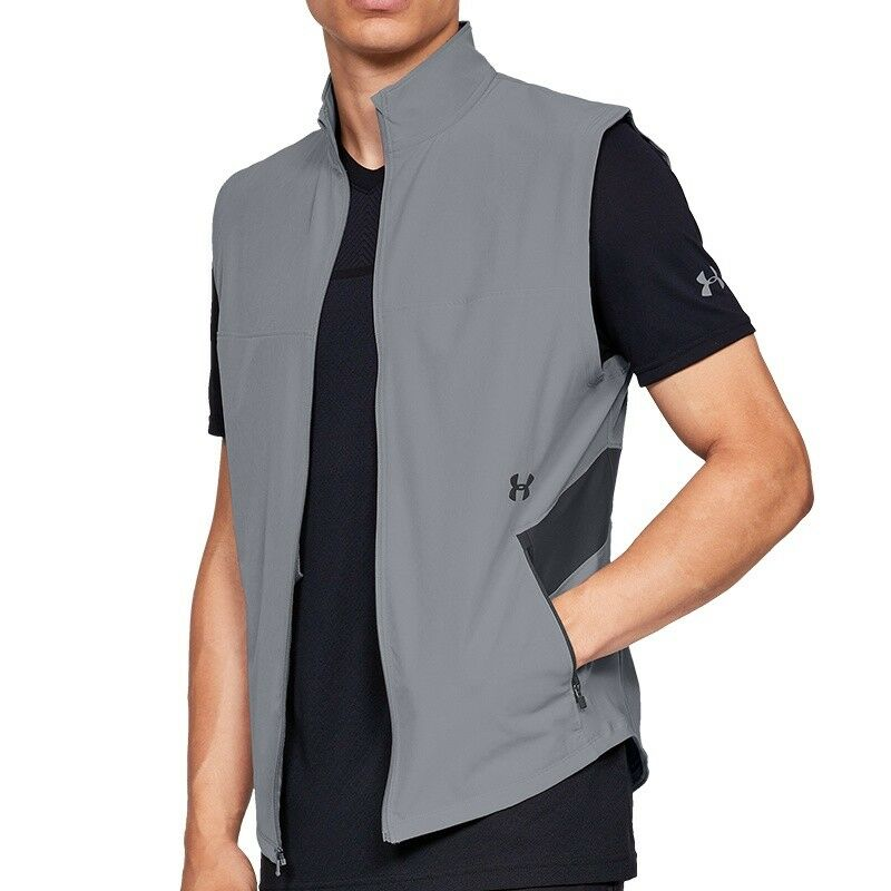 Under Armour Microthread Vanish Bodywarmer Hybrid Vest 1320680-035 - Laufweste 1320680-035 Vest 54daa7