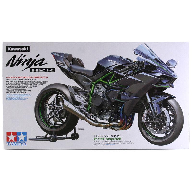 Tamiya Kawasaki Ninja H2R Motorcycle (Scale 1 12) NEW