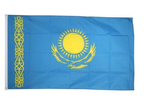 Le Kazakhstan Hissflagge kazakh drapeaux drapeaux 60x90cm