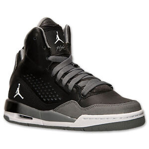 taille 40 77640 d1ef0 Details about 629942-013 Nike Air Jordan Flight SC 3 (GS) Black/White/Cool  Grey Sizes 4-7 NIB