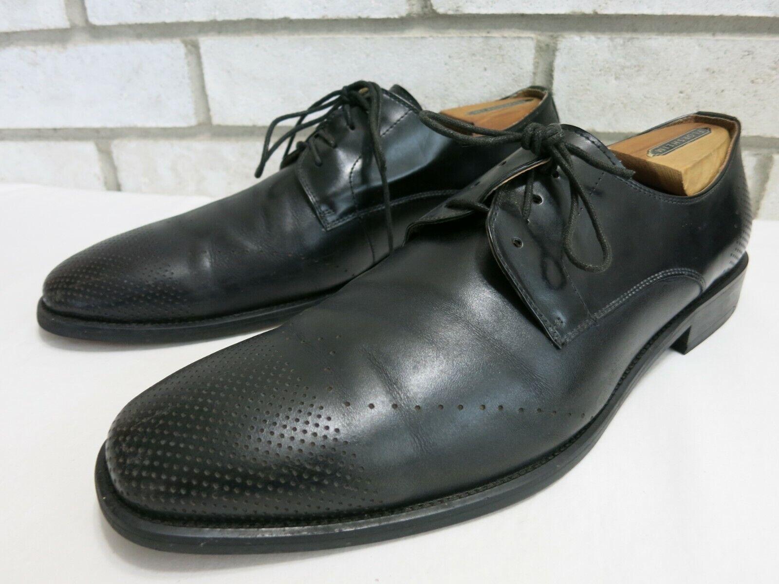 Kenneth Cole Reaction Leather Dress Shoes Estate Footwear Shoe Zapato Kutsu 10.5
