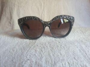 Kuboraum Sunglasses Beautiful Frame Burnt Black With Silver Maske D3 $655