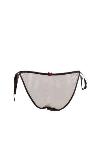 L/'Agent by Agent Provocateur Women/'s Lace Elegant Brief Black RRP £35 BCF87