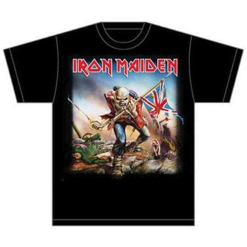 Trooper design T Shirt Official Merchandise Men/'s Iron Maiden Tee