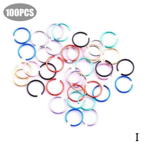 Fake Nose Ring Septum Ring Hoop Cartilage Tragus Helix Small Thin Piercing