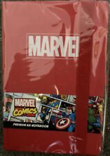 Official Marvel Comics Logo Premium A5 Notebook Leather Look Cover