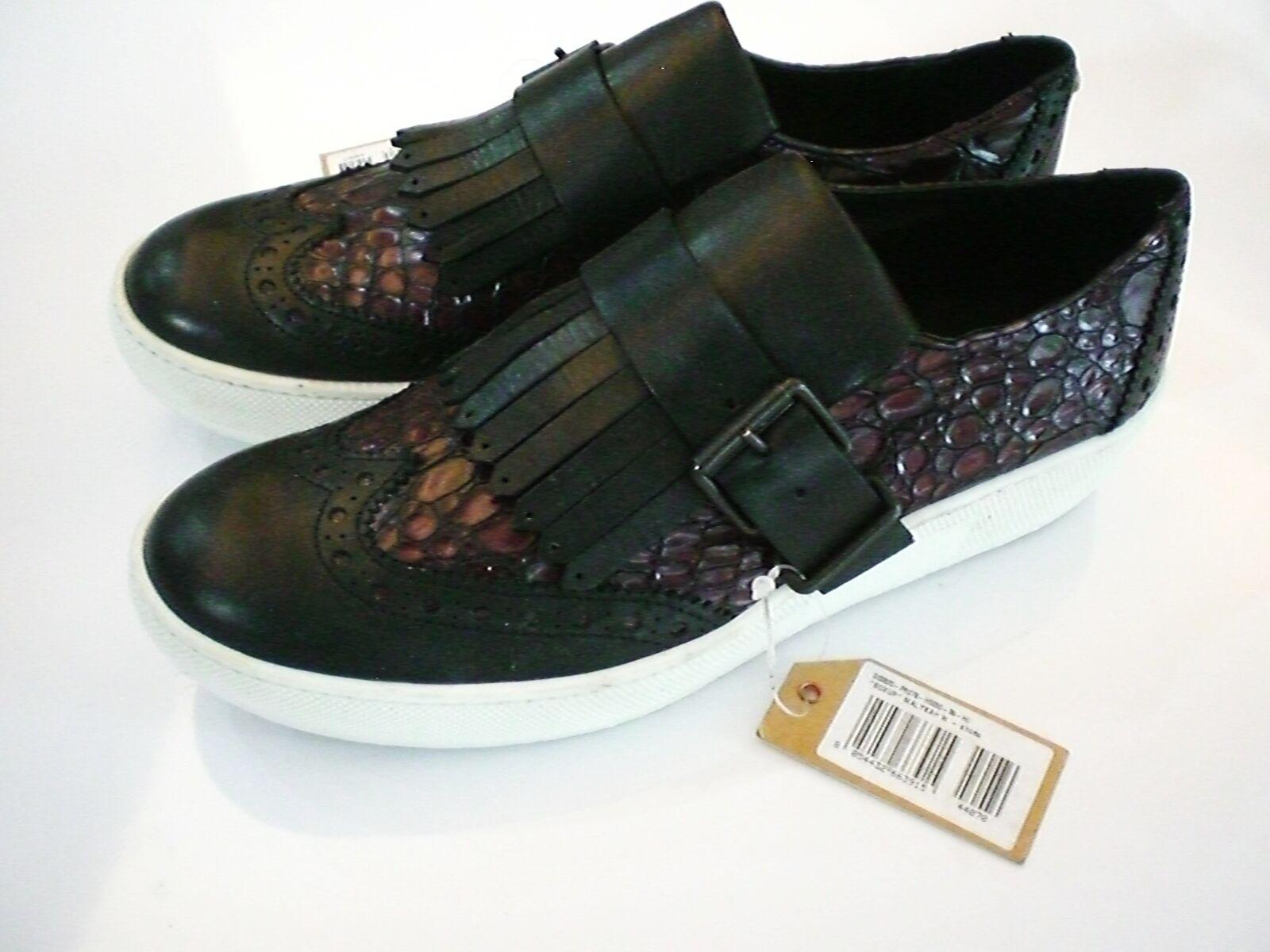 Original DIESEL Damenschuhe Boxup Malykah Gr. 39 Plateau Sneaker Echtleder NEU