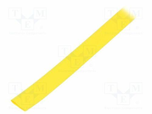 1 9,5mm L 10m gelb Polyolefin 10 m Schrumpfschlauch elastisch 2
