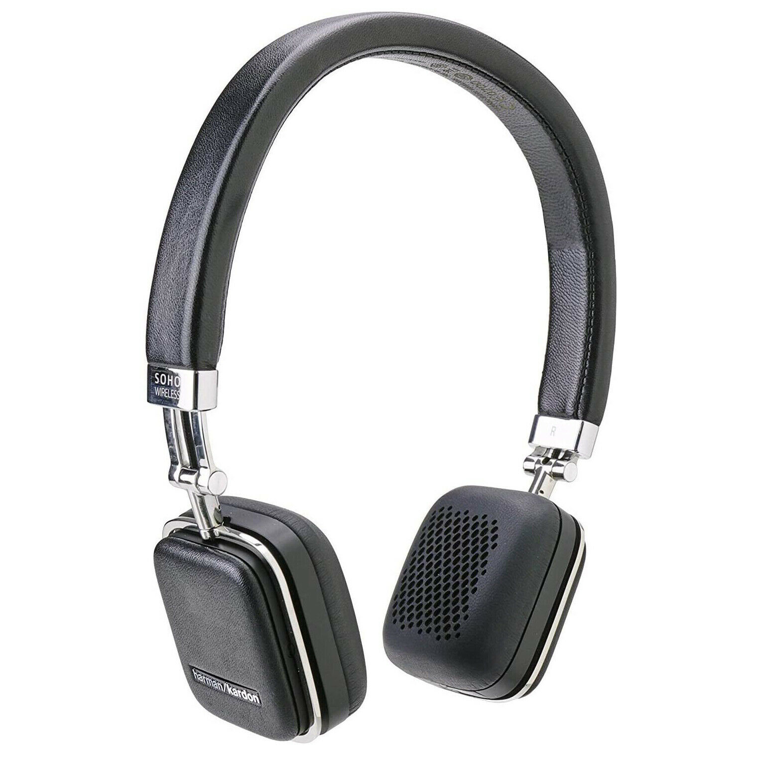 Harman Kardon Soho On The Ear Bluetooth Headphones Black For Sale Online Ebay