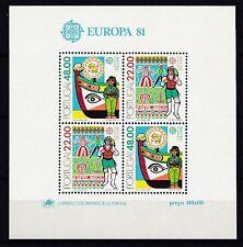Portugal postfrisch 1981  MiNr. Block 32  Europa