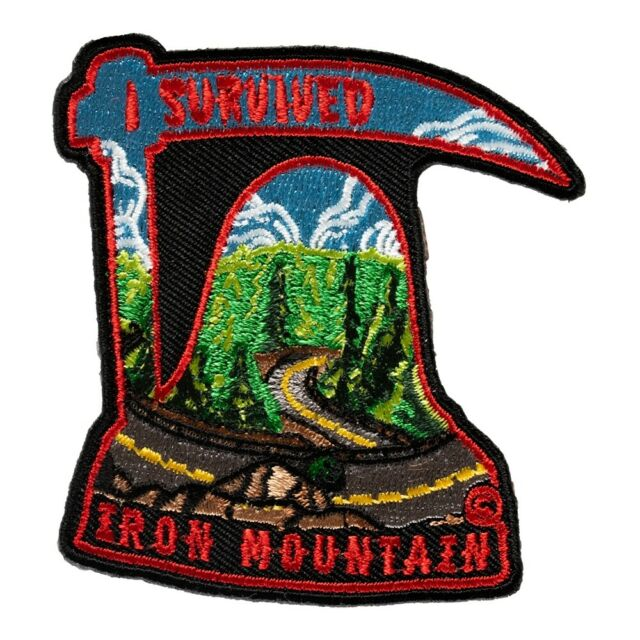 I Survived Iron Mountain Road Patch, Black Hills SD Patches