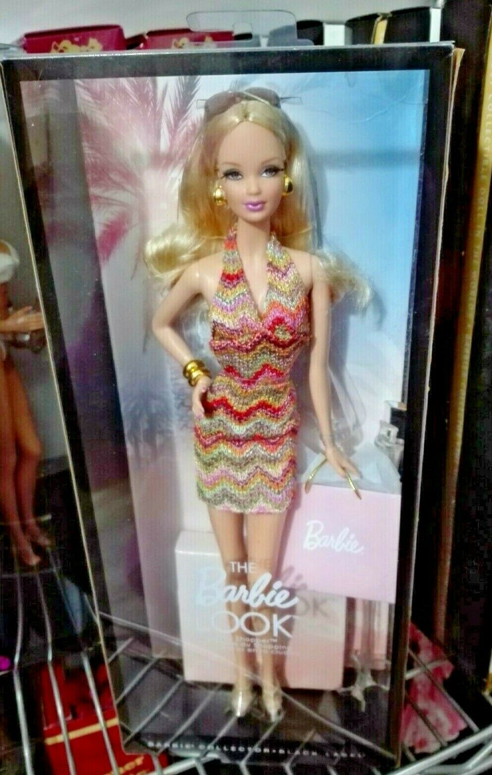 BARBIE LOOK CITY SHOPPER NRFB NRFB NRFB - schwarz LABEL model muse doll collection Mattel d7017a