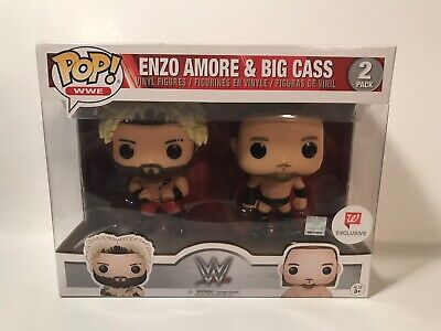 WWE Enzo Amore and Big Cass Pop Vinyl 2-Pack