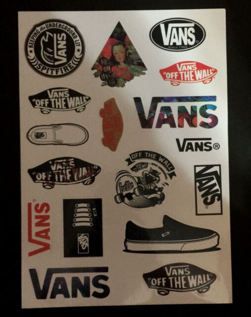 16 Vans Skateboard Longboard Vintage Vinyl Sticker Laptop Luggage Car Decals 9adaf83c4