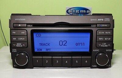 Hyundai Sonata 2009 2010 MP3 CD XM player 96185-3K100 96185-3K700 TESTED 50988gs