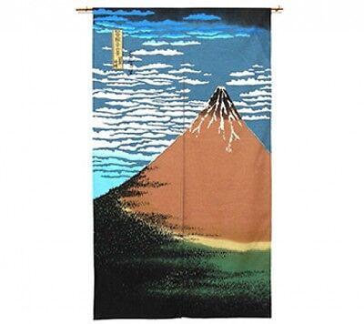 Godzilla X Hokusai Katsushika UKIYOE Japanese door curtain Tapestry Noren F//S