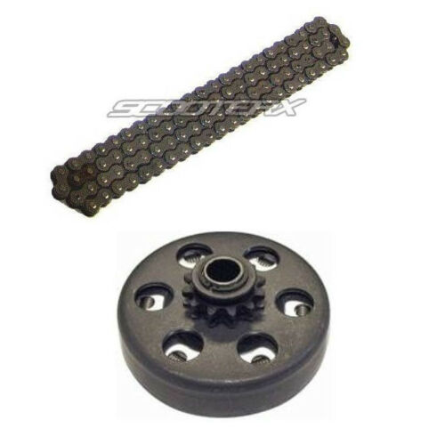 Chain Part Set Mini Bike Go Kart Clutch #35 Size 3//4-12 Tooth Sprocket