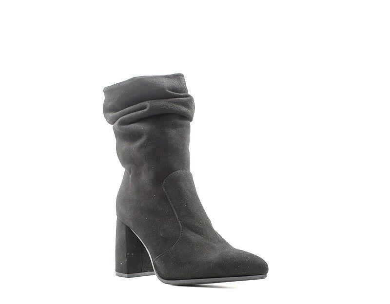 shoes REBECCA VAN DIK Femme black en en en daim NG920CAM-NE e5fa3b