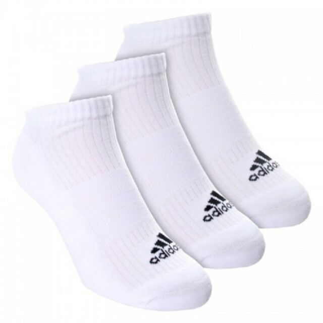 Adidas Socks 3 Pairs Pack Sports Lin Plain S24578 Womens Pink White Purple New