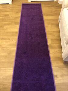 Deep Purple Hallway Stair Runners Rugs