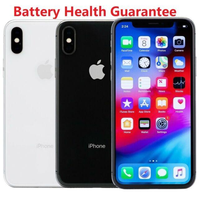 Apple iPhone X / 64GB / 256GB / Unlocked Verizon AT&T T-Mobile
