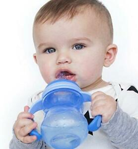 Nuby Non-Drip 3-Stage Wide Neck Bottle to Cup, 8 Ounce, Colors May Multicolor