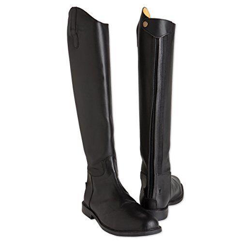 Tuffrider Para hombre botas De Vestir barroco, Negro, 8 de ancho