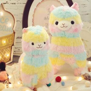 Insaneness Baby Toys Stuffed Toy Colorful Kawaii Alpaca Llamas Arpakasso Soft Plush Toy Doll Stuffed Toy Gift