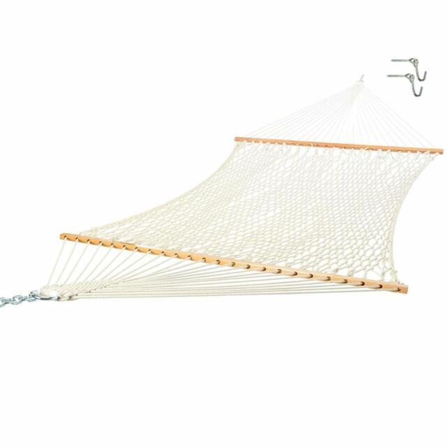 2 Person Cotton Rope Hammock FREE SHIPPING