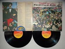 """2 LP FRANK ZAPPA """"Tin seltown rebellion"""" CBS 88516 holland µ"""