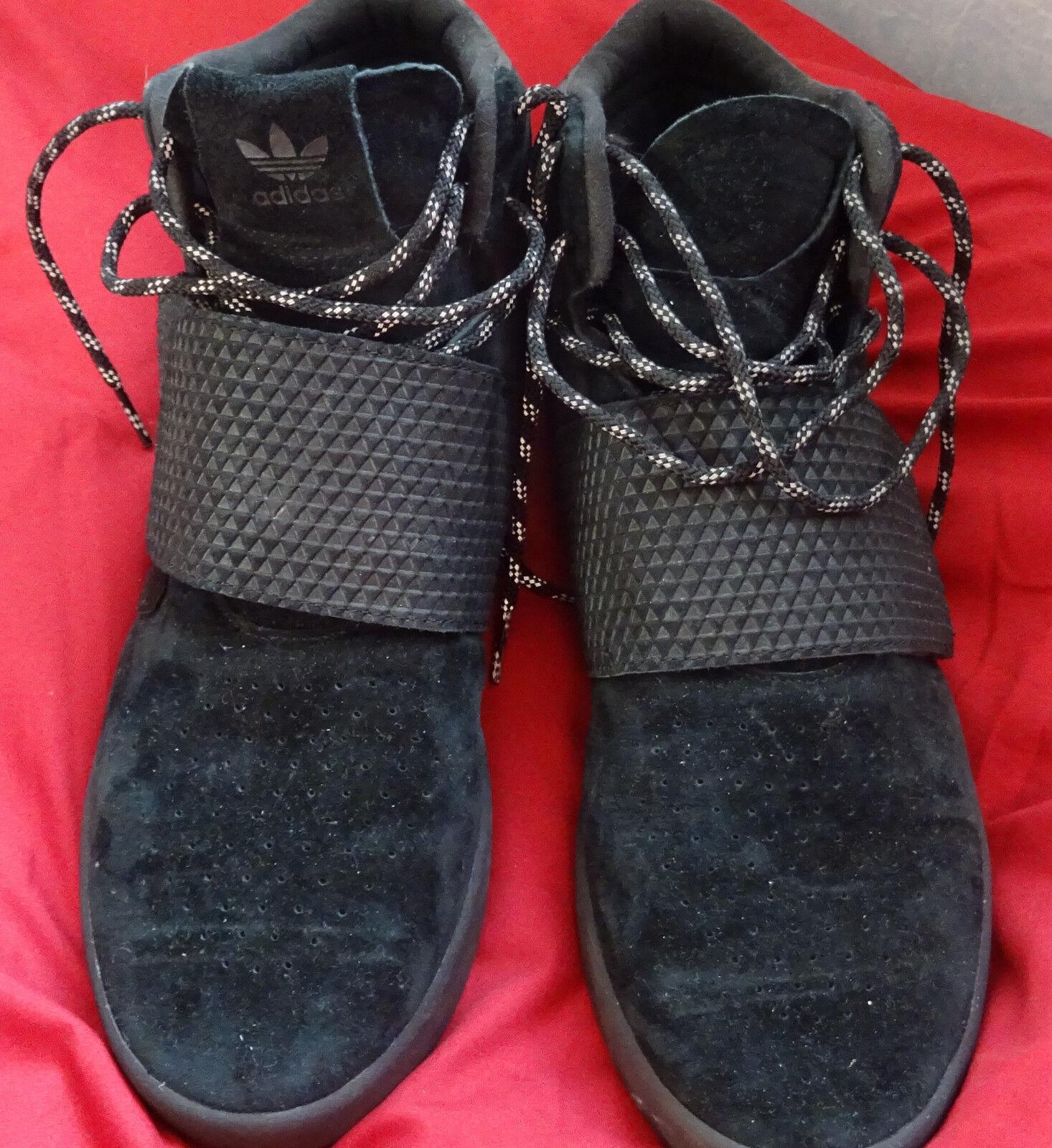 mes adidas - tubuläre mit schnallen - adidas schwarze größe 9. a24f25