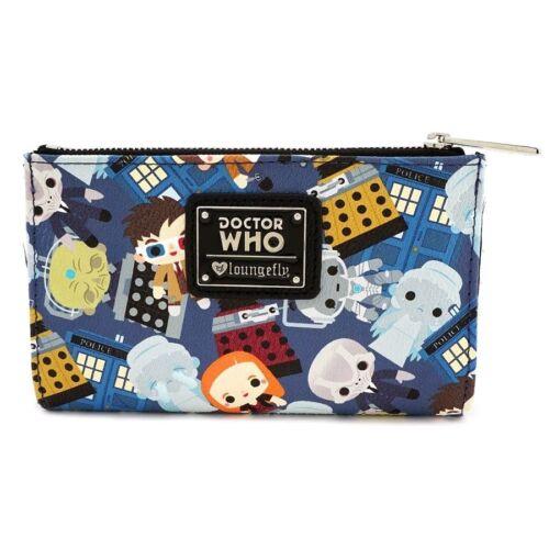 Doctor Who Chibi Print Wallet-LOUDRWWA0005