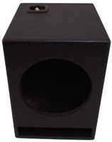 "ASC Single 15"" Subwoofer Universal Fit Vented Port Sub Box Speaker Enclosure -"