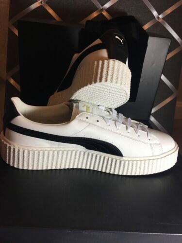 quality design b9258 8fc9d Men's Fenty Sneakers Puma Rihanna Creeper White Leather Nib ...