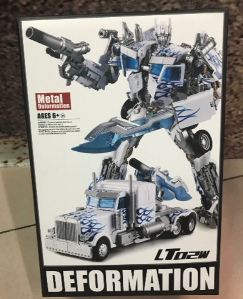 New, New, New, Variant toy lt02-w bluee and white porcelain optimus prime boxes 94fca3