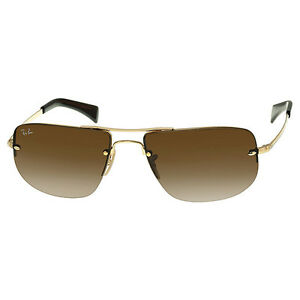 Ray-Ban-Aviators-Arista-Frame-Brown-Gradient-Lens-0RB3497001-1359