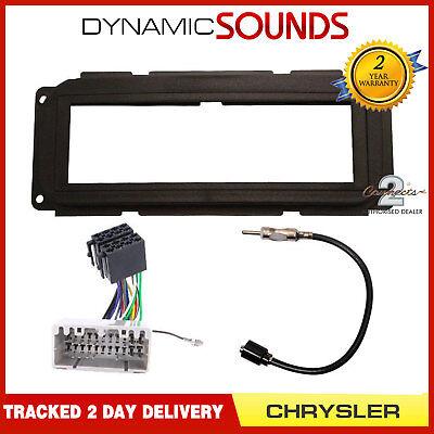 Car Stereo Fascia Wiring Fitting Kit For Chrysler Neon, PT ...