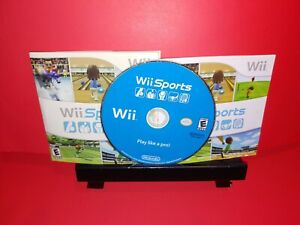 Nintendo-Wii-Sports-Game-amp-Manual-Complete-With-Cardboard-Sleeve-B538