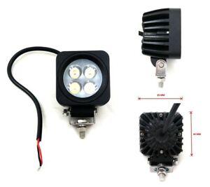 Flutlicht-12W-3Wx4-LED-Scheinwerfer-Arbeitsscheinwerfer-Off-road-SUV-Jeep-12V-24