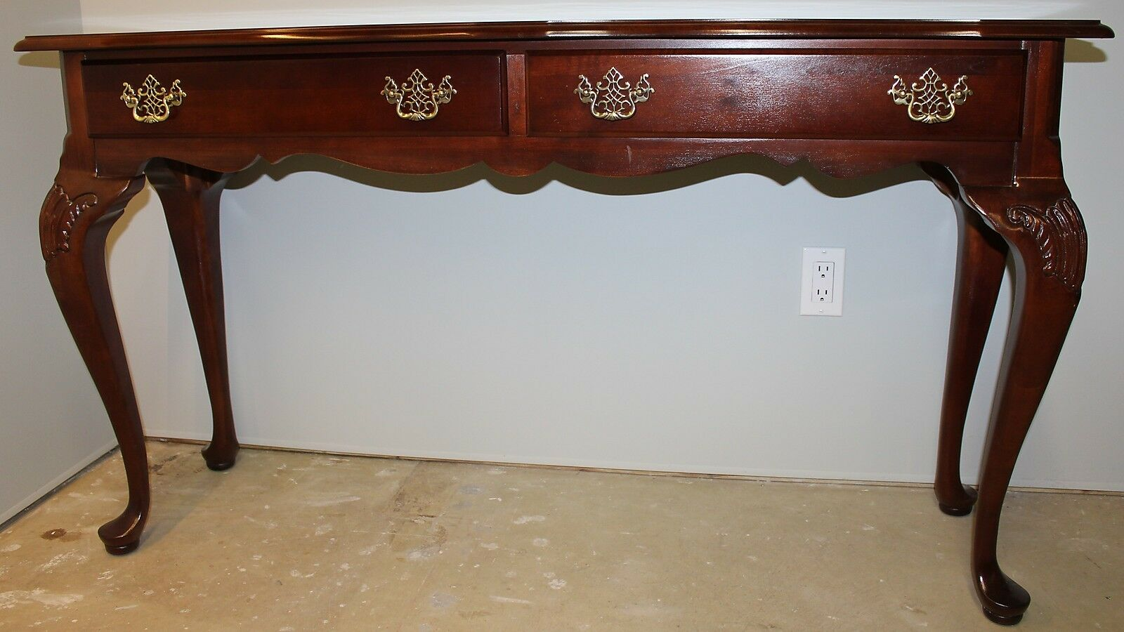 American Heritage Collection Sofa Table Drawers Stanley Furniture