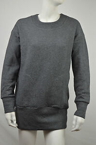 LACOSTE NWD WOMENS MARCASSIN GRAY CREW NECK SWEATER DRESS SIZE  2 ... 146c958c8e