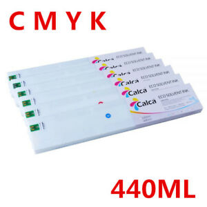 4-Color-Calca-Compatible-440ML-Roland-ECO-Sol-Max-Ink-Cartridge-CMYK