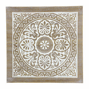 Details Zu Wandbild Aus Holz Marokko 35 X 35 Cm Mandala Wanddeko Wandobjekt Ornament