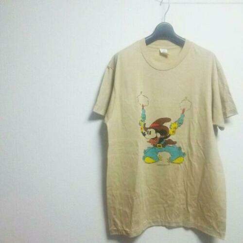 Cowboy Mickey T Shirt Sherry 70'S Super Rare Size