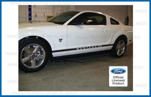K both sides L and R strip Ford Mustang Rocker Panel Side Stripe Door Decal
