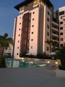 Renta departamento con vista Cumbres Towers Cancun