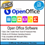 OPEN-OFFICE-MICROSOFT-OFFICE-WORD-EXCEL-2007-amp-2010-COMPATIBLE-SOFTWARE-PACK thumbnail 1
