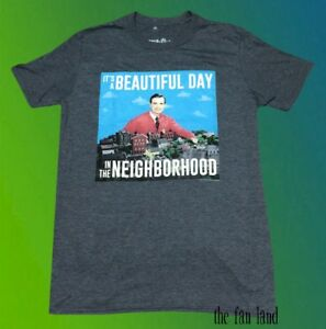 New Pbs Mister Mr Rogers It S A Beautiful Day In The Neighborhood Mens T Shirt Ebay