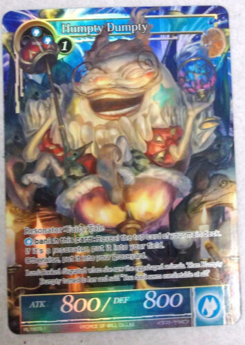 FORCE OF WILL HUMPTY DUMPTY RL1603-1 PROMO MINT FULL ART NEW FOW