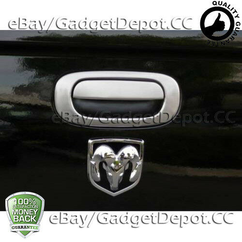 For 1997-2005 2006 2007 2008 2009 2010 2011 Dodge Dakota Chrome Tailgate Cover